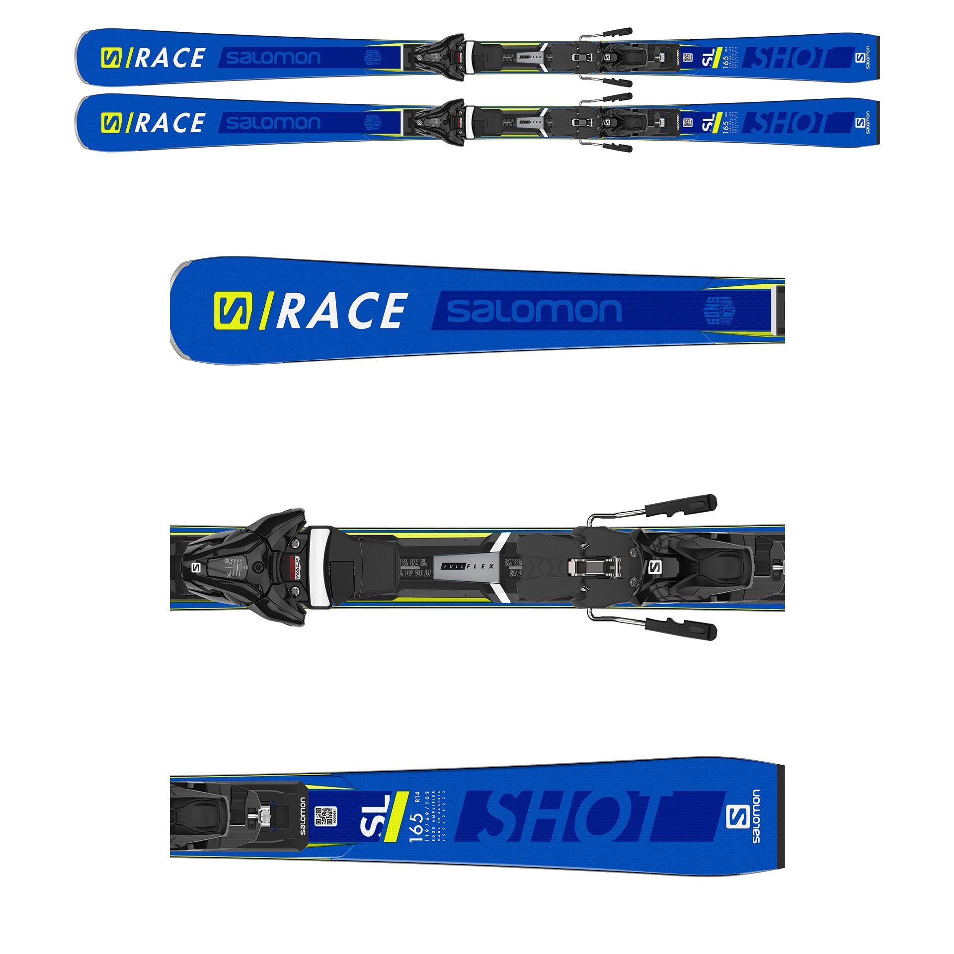 NARTY SALOMON S/RACE SHOT SL 2020 + WIĄZANIA Z12 GW F80